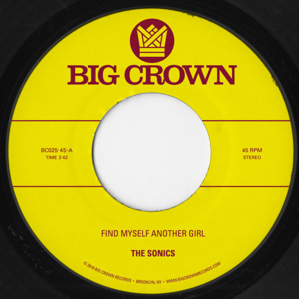 the sonics scam find myself another girl spooky big crown records