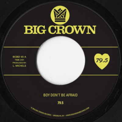 79.5 Boy Don't be afraid i stay you stay big crown records