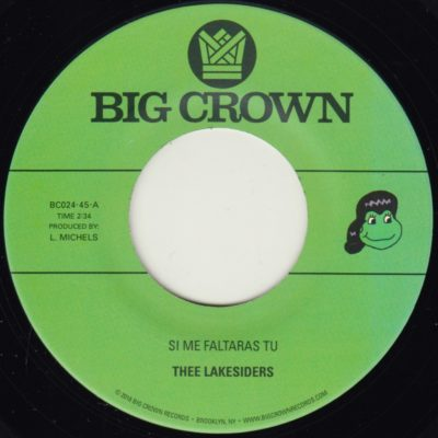 Thee Lakesiders big crown records