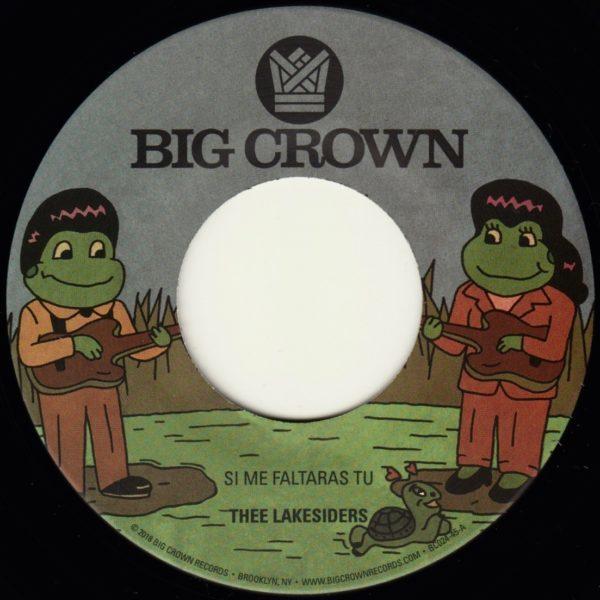 Thee Lakesiders Si Me Faltaras Tu b/w Parachute Re-press big crown records