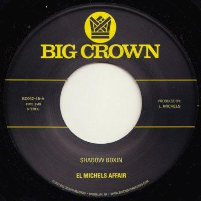 el michels affair shadow boxin iron maiden big crwon records