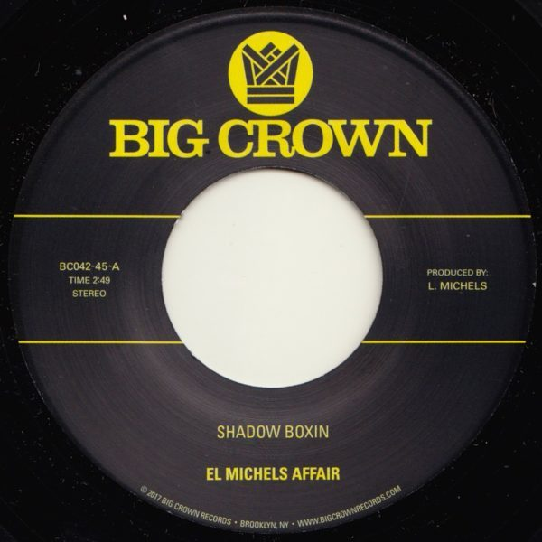 el michels affair shadow boxin iron maiden big crwon records