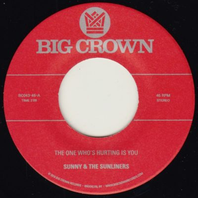 sunny & the sunliners should i take you home keyloc version big crown records the one who's hurting is you
