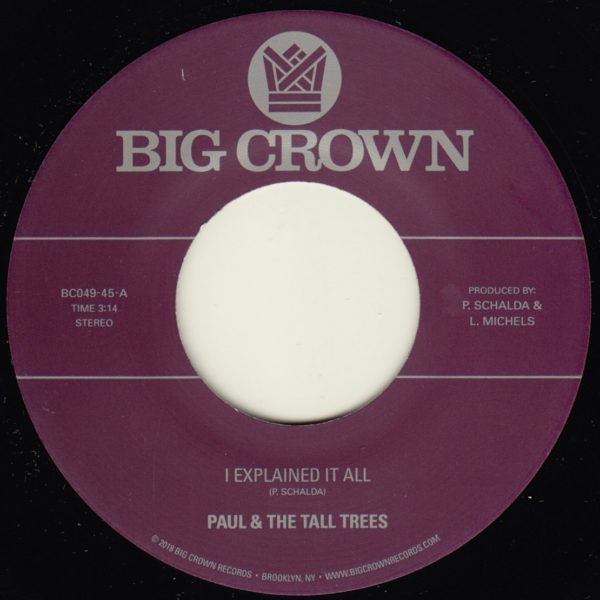 Paul and the tall trees i explained it all big crown records