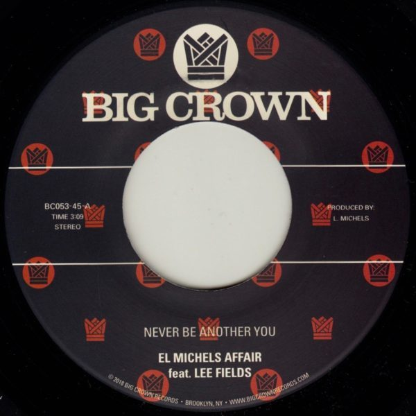 el michels affair lee fields never be another you regge remix big crown