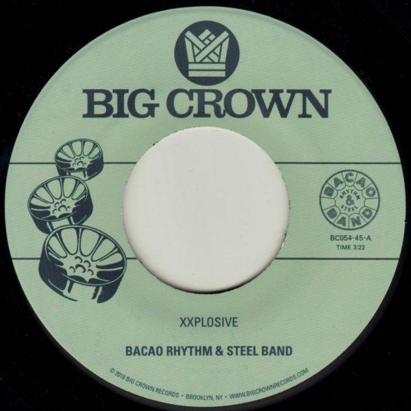 Bacao Rhythm & Steel Band Xxplosive Big Crown Records