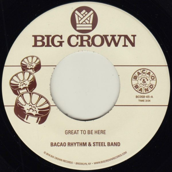 bacao rhythm & steel band all for the cash great to be here big crown records