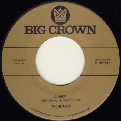 The Shacks Audrey Fly fishing Big Crown Records