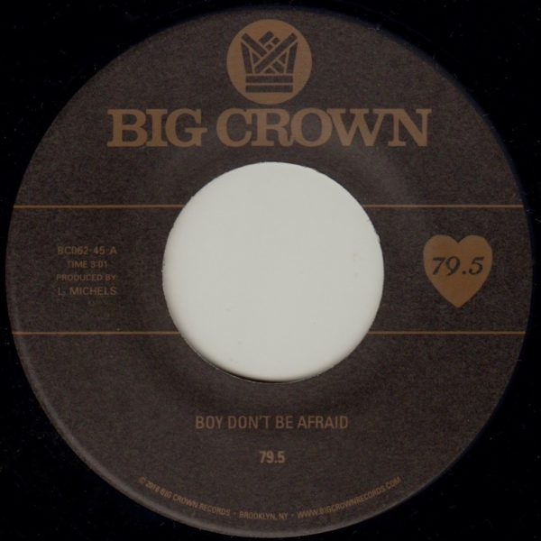 79.5 Boy Don't be afraid big crown records