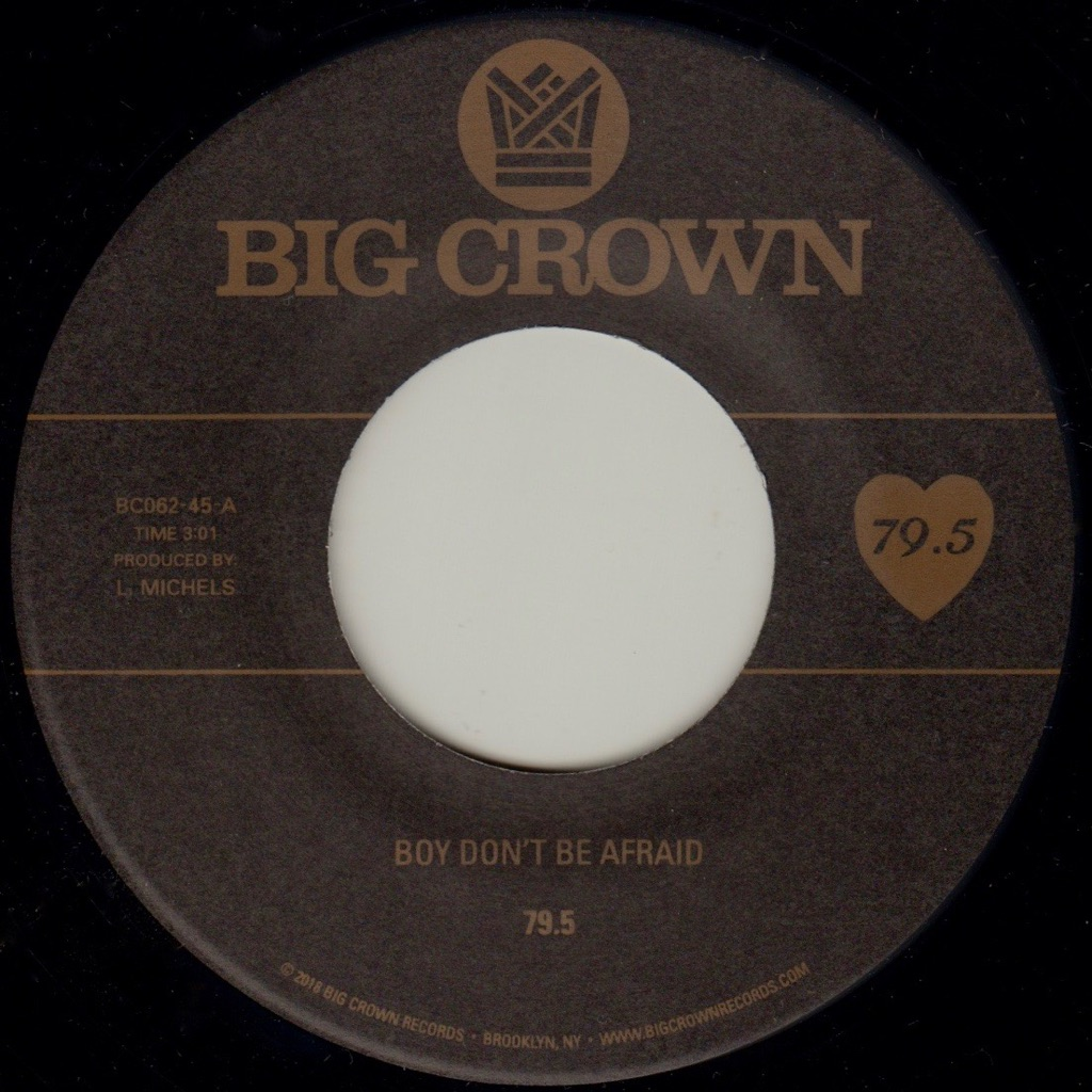 79.5 Boy Don't be afraid big crown records