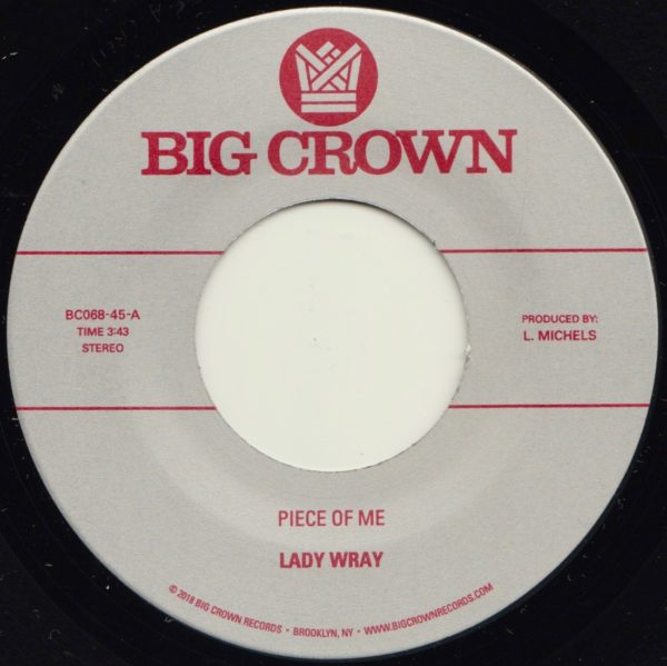 lady wray piece of me big crown records