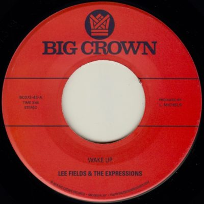 lee fields and the expressions you're what's needed in my life wake up big crown records