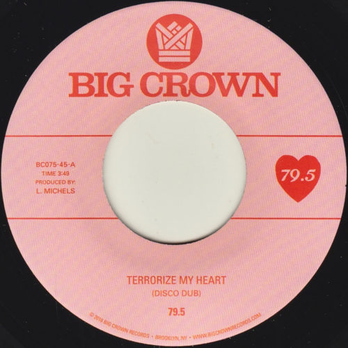 79.5 terrorize my heart disco dub tall black guy bounce remix big crown records