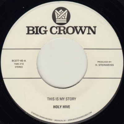 Holy Hive This is my story big crown records BC077-45
