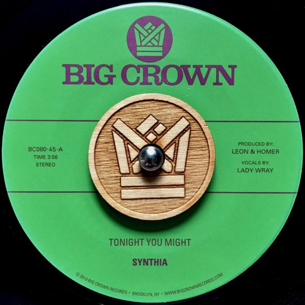 synthia tonight you might dissove big crown records