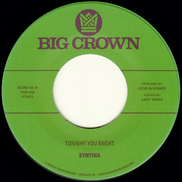 Synthia tonight you might dissolve big crown records