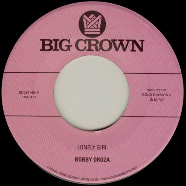 "Bobby Oroza ""Lonely Girl"" b/w ""Alone Again"""