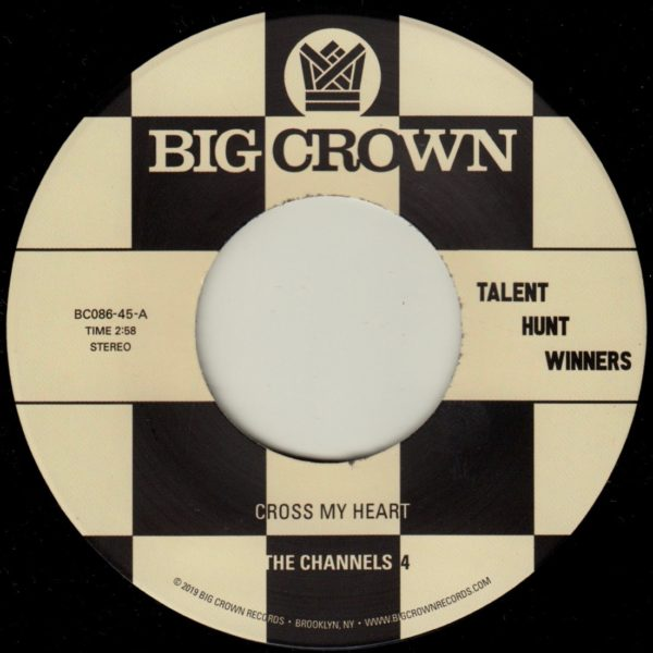 "The Channels 4 ""Cross My Heart"" b/w Carla & The Carlettes ""Groovin"""