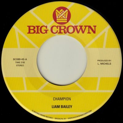 liam bailey champion big crown records