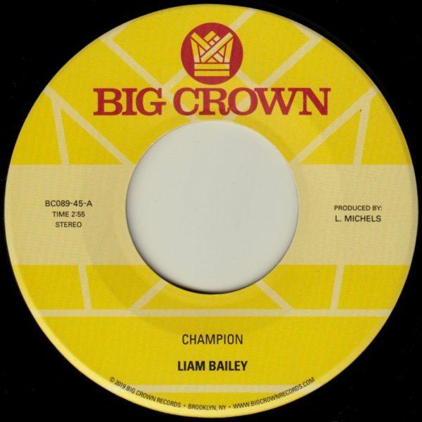 liam bailey champion big crown records