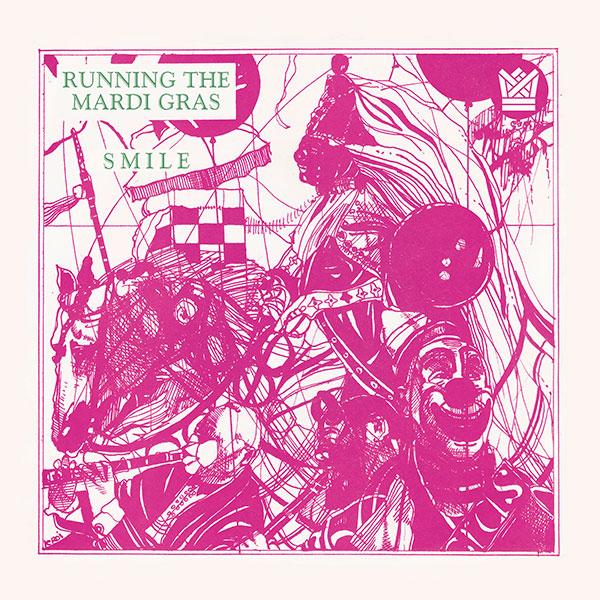 Boco Running The Mardi Gras Smile 45 Big Crown Records Reissue BC003-45