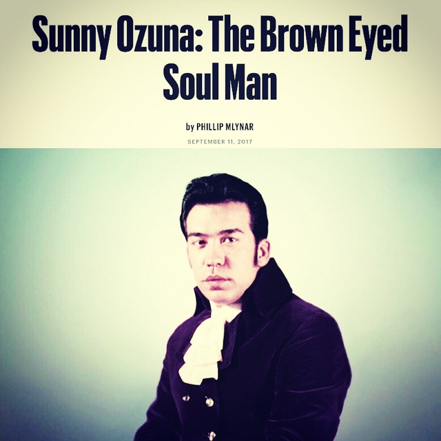 SUNNY AND THE SUNLINERS SUNNY OZUNA INTERVIEW VILLAGE VOICE BIG CRWON RECORDS