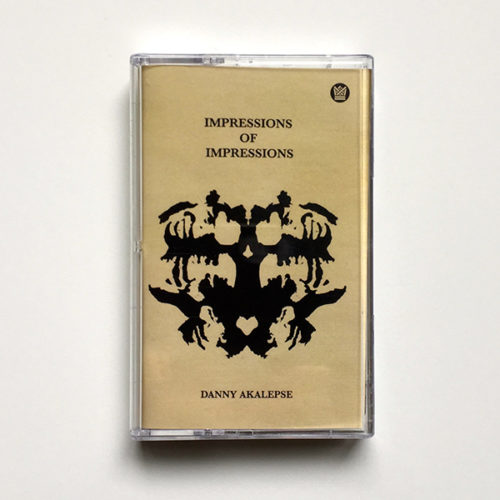 Big Crown Records Danny Akalepse Impressions Cassette Tape