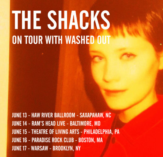 the shacks on tour Washed OUt