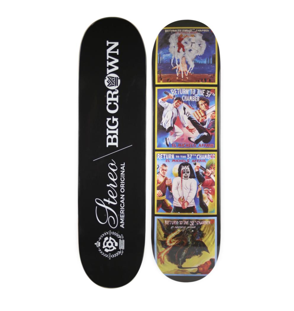 37th Chamber - Stereo SkateBoard Deck