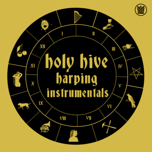 holy hive harping instrumentals ep big crown records