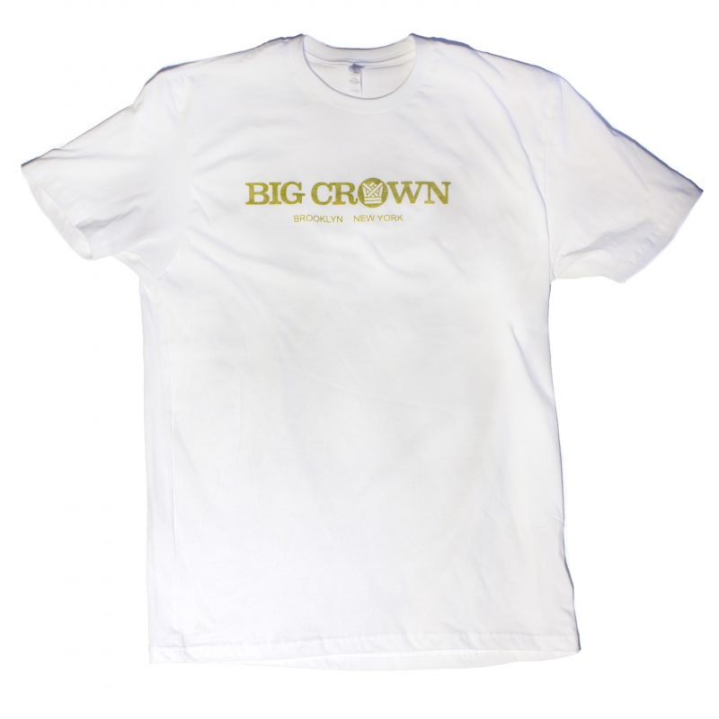 BIG CROWN RECORDS LOGO T-SHIRT