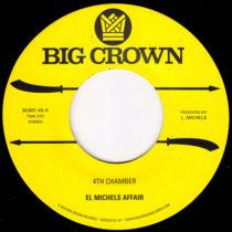 El Michels Affair 4th Chamber BC001-45 Big Crown Records GZA Liquid Swords