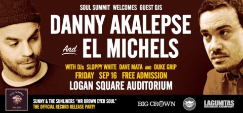 Danny Akalepse El Michels Logan Square Chicago Big Crown Records