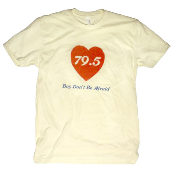 Big Crown Records 79.5 Boy Don't Be Afraid Tee Shirt