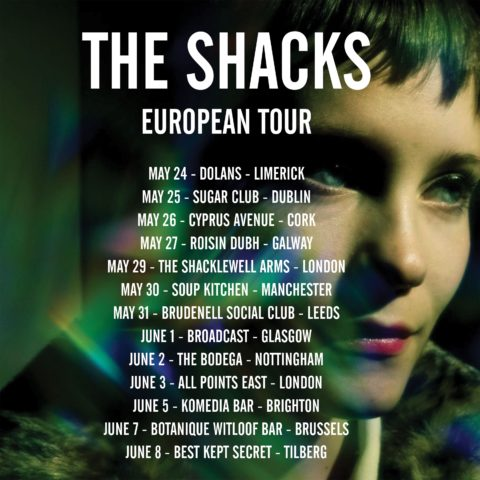 the shacks european tour big crown records