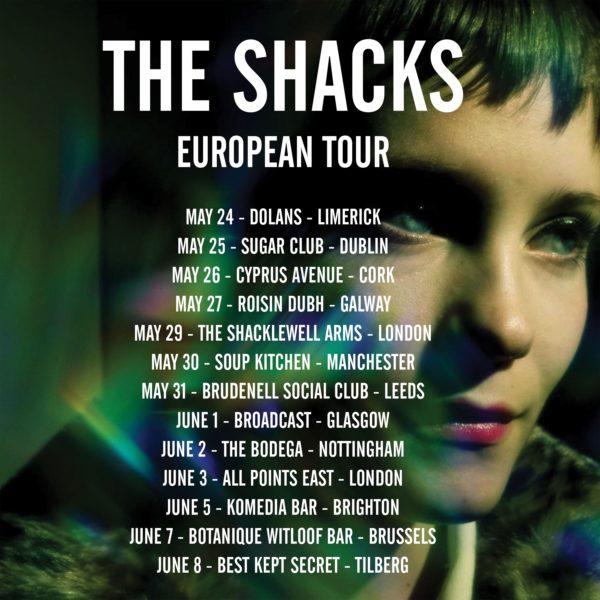 the shacks european tour big crown records